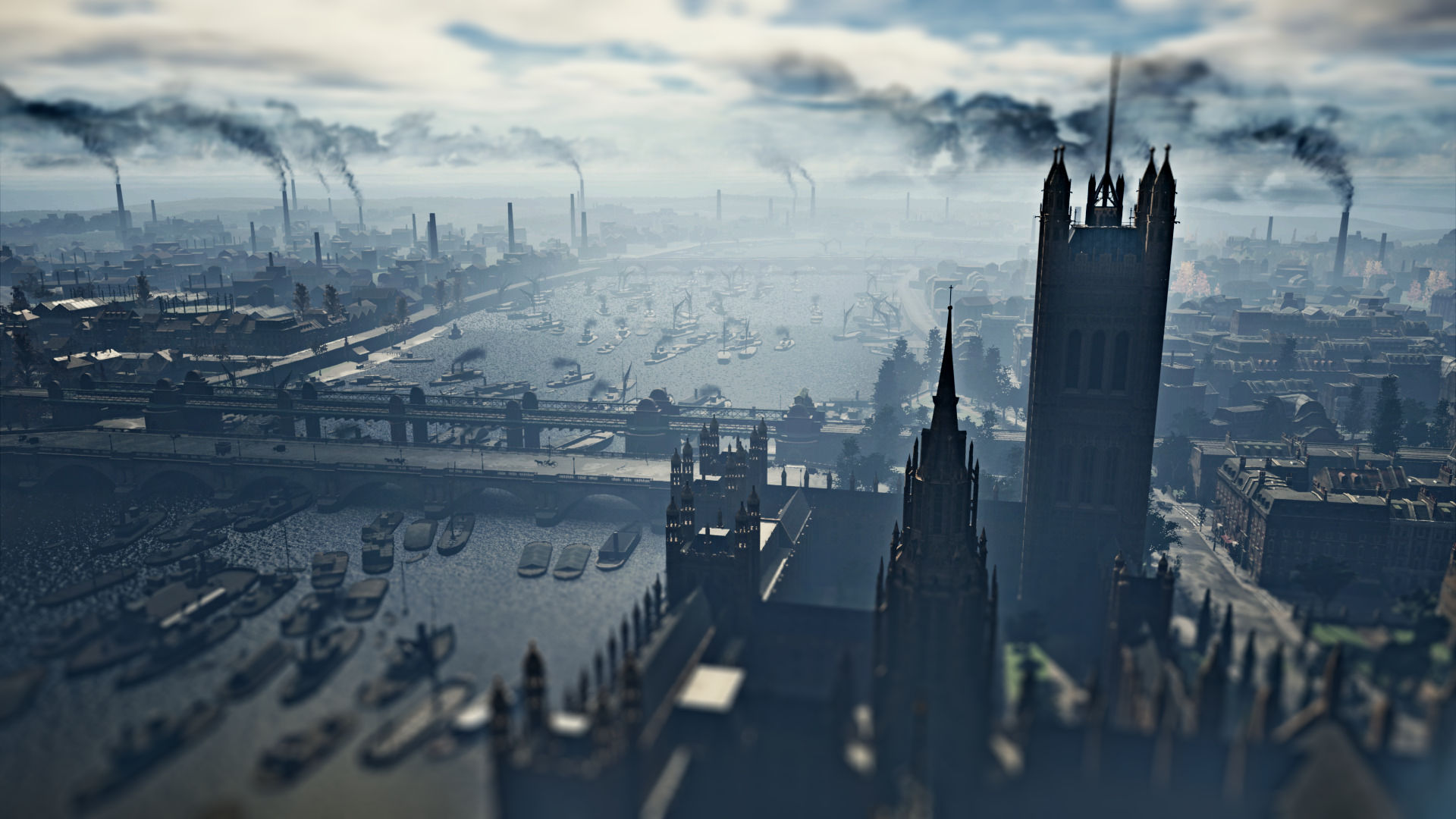The City Of London In Assassin S Creed Syndicate Pc Gamer
