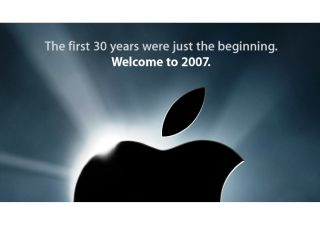 Apple - 30 years in the making logo