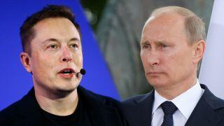 Elon musk vladimir putin clubhouse