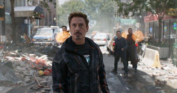 Tony Stark looks on in horror