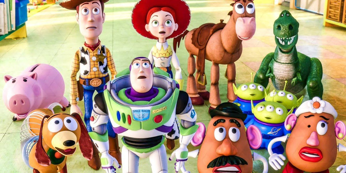 The toys gathered in Pixar's Toy Story 3