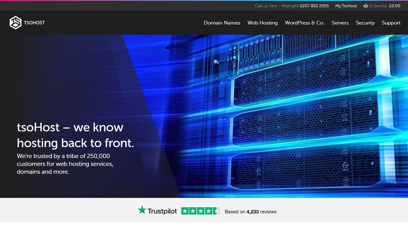 tsoHost's homepage