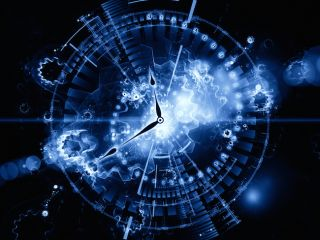 Abstract clock.