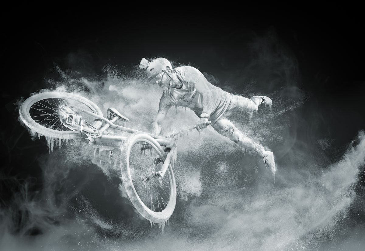 Photographs that prove that Red Bull really does give you wings!