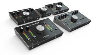 The M-Track range now contains five audio interfaces.
