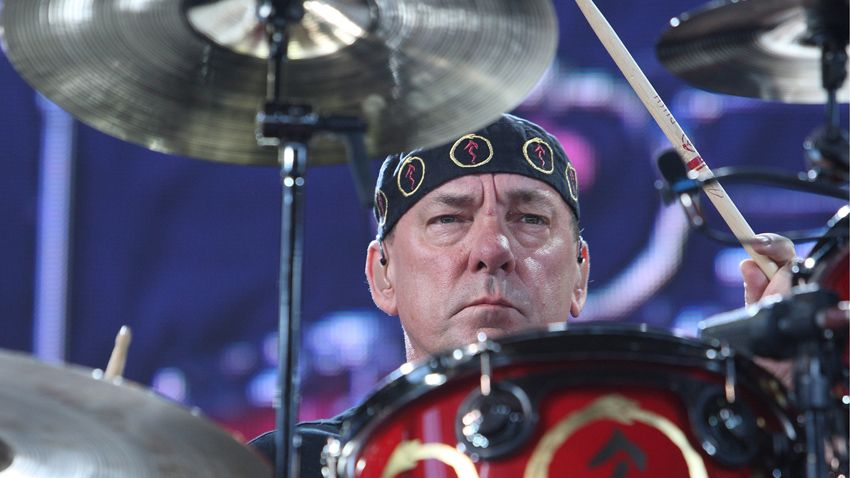 Signed Neil Peart gear up for auction   MusicRadar