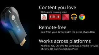 Chromecast services