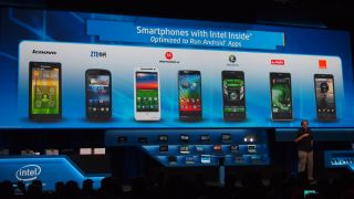 Intel smartphones
