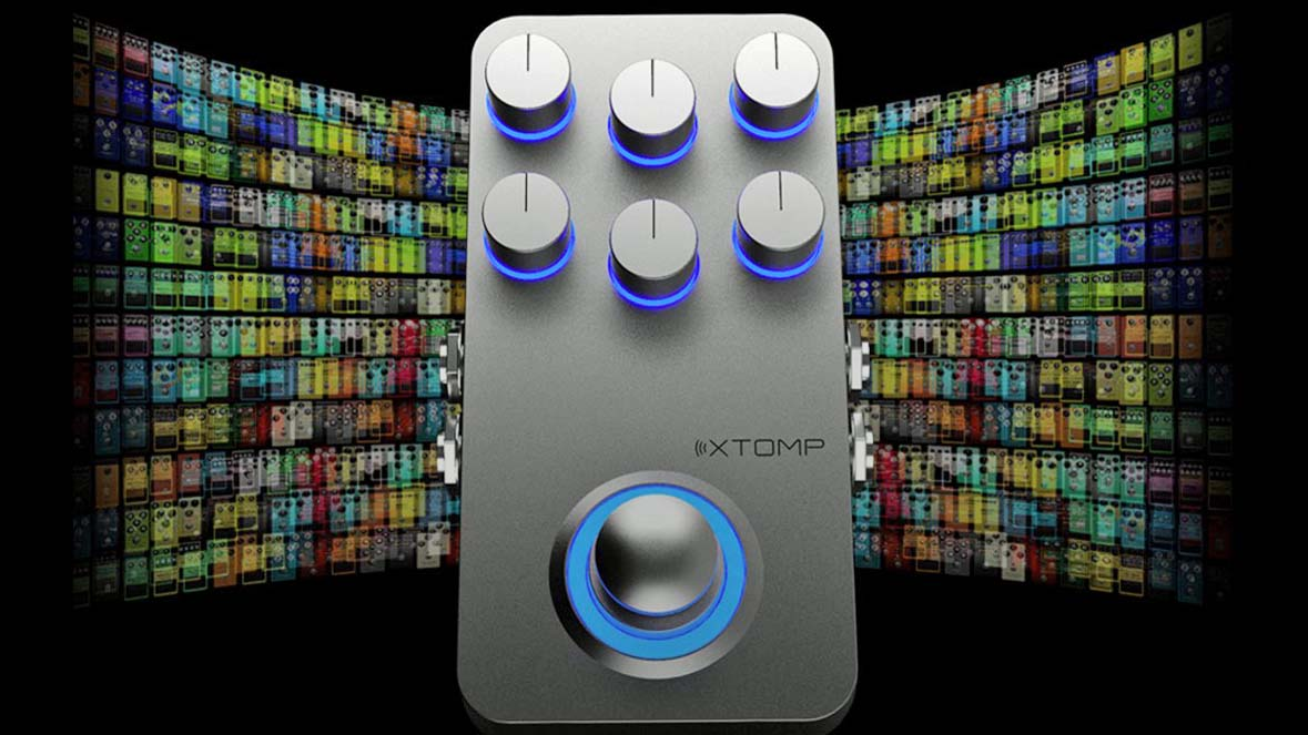Hotone's Xtomp crams 300 guitar effects into one low-profile pedal