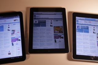 Apple iPad dominating