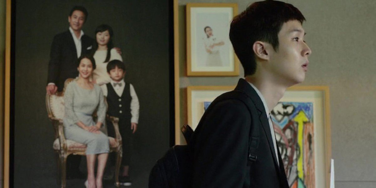 Choi Woo-shik in Parasite