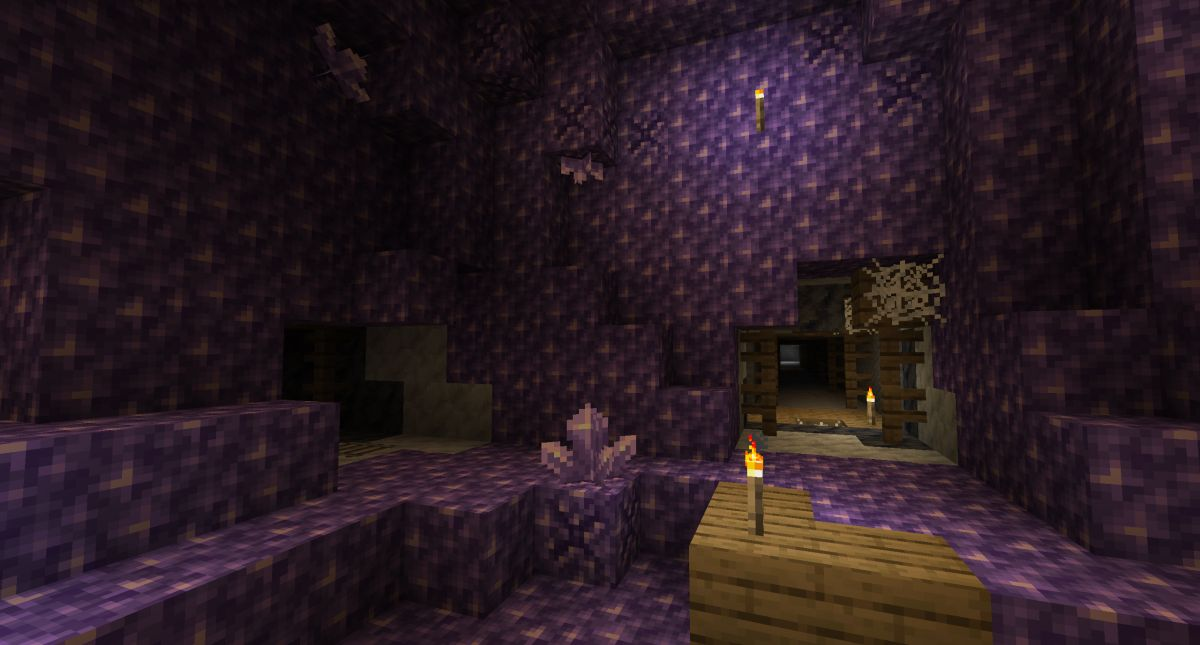 How to find amethyst shards in Minecraft