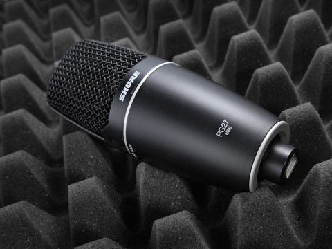 Shure PG27 USB Side-Address Condenser Microphone