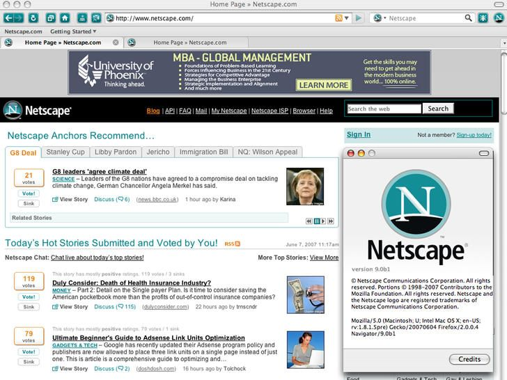 an analysis of netscape Netscape communications corp , american developer of internet software with headquarters in mountain view, california founding as mosaic communications the company was founded in april 1994 as mosaic communications corp by james h clark and marc andreessen.