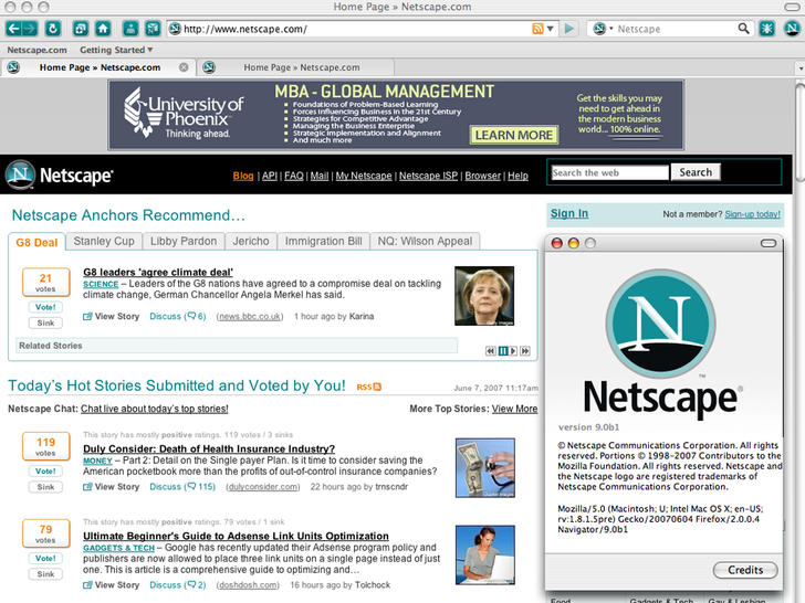 10 Cool Things Aol Could Do With Netscape Com Techradar