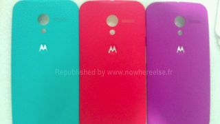 Moto X rear casings