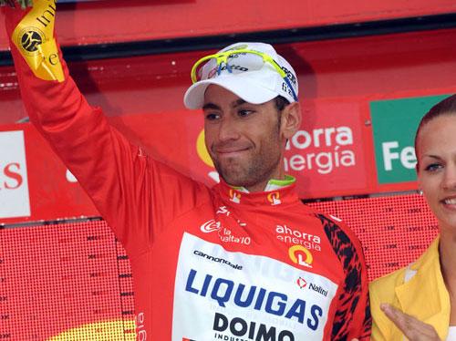 Vincenzo Nibali, Vuelta a Espana 2010, stage 15