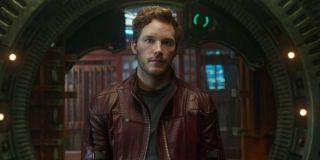 Chris Pratt as Star-Lord in Guardans of the Galaxy