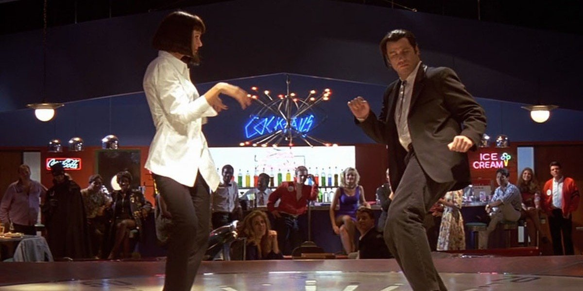 Uma Thurman, John Travolta - Pulp Fiction