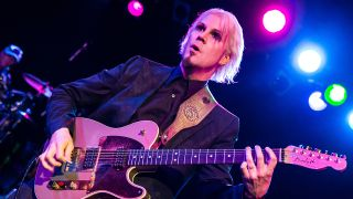 a shot of John 5 on stage