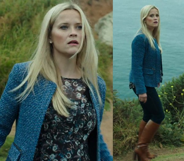 Big Little Lies Madeline blue tweed jacket