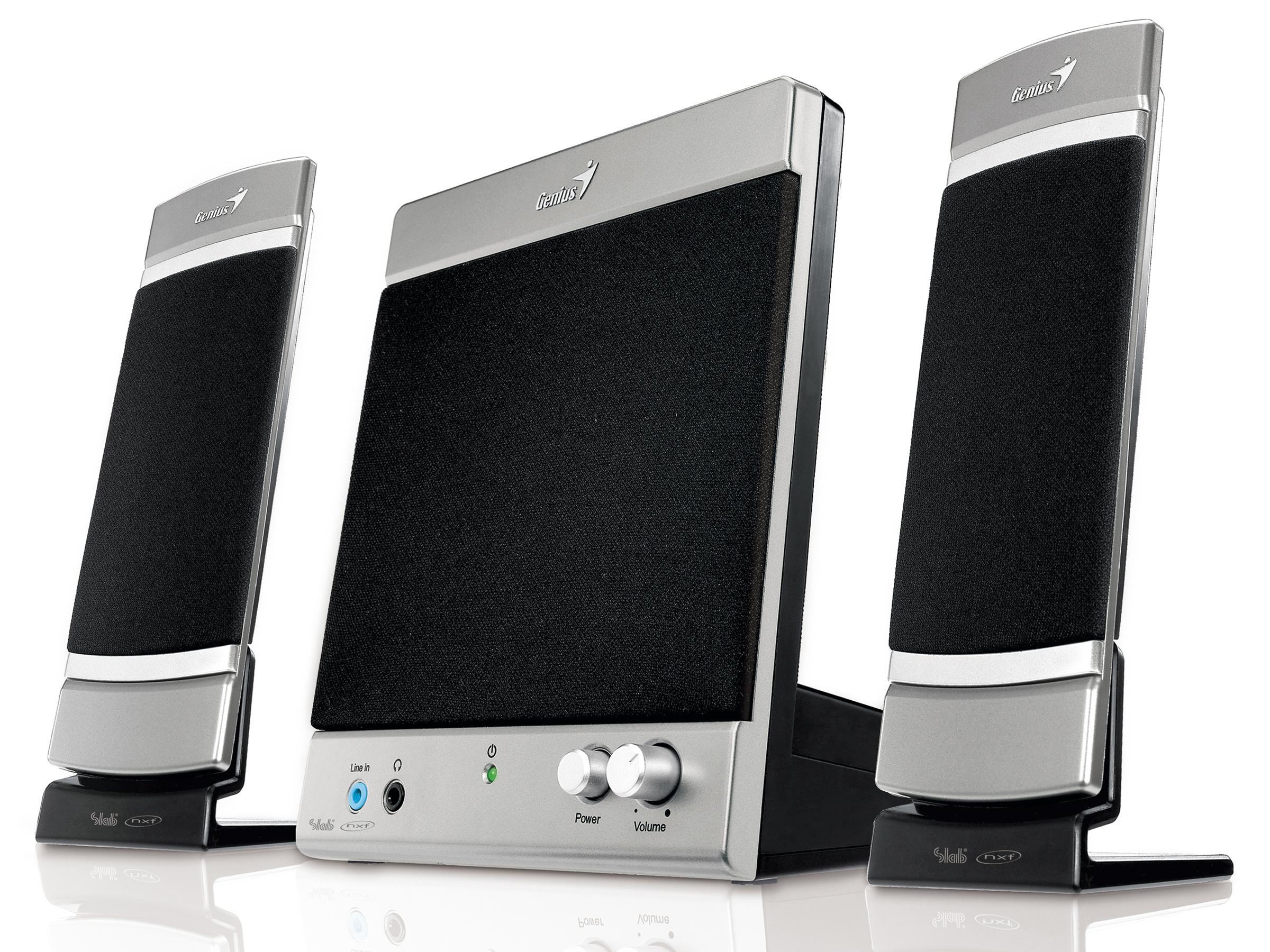 Genius Sw Flat 21 700 Techradar Hi Fi Pc Speaker System