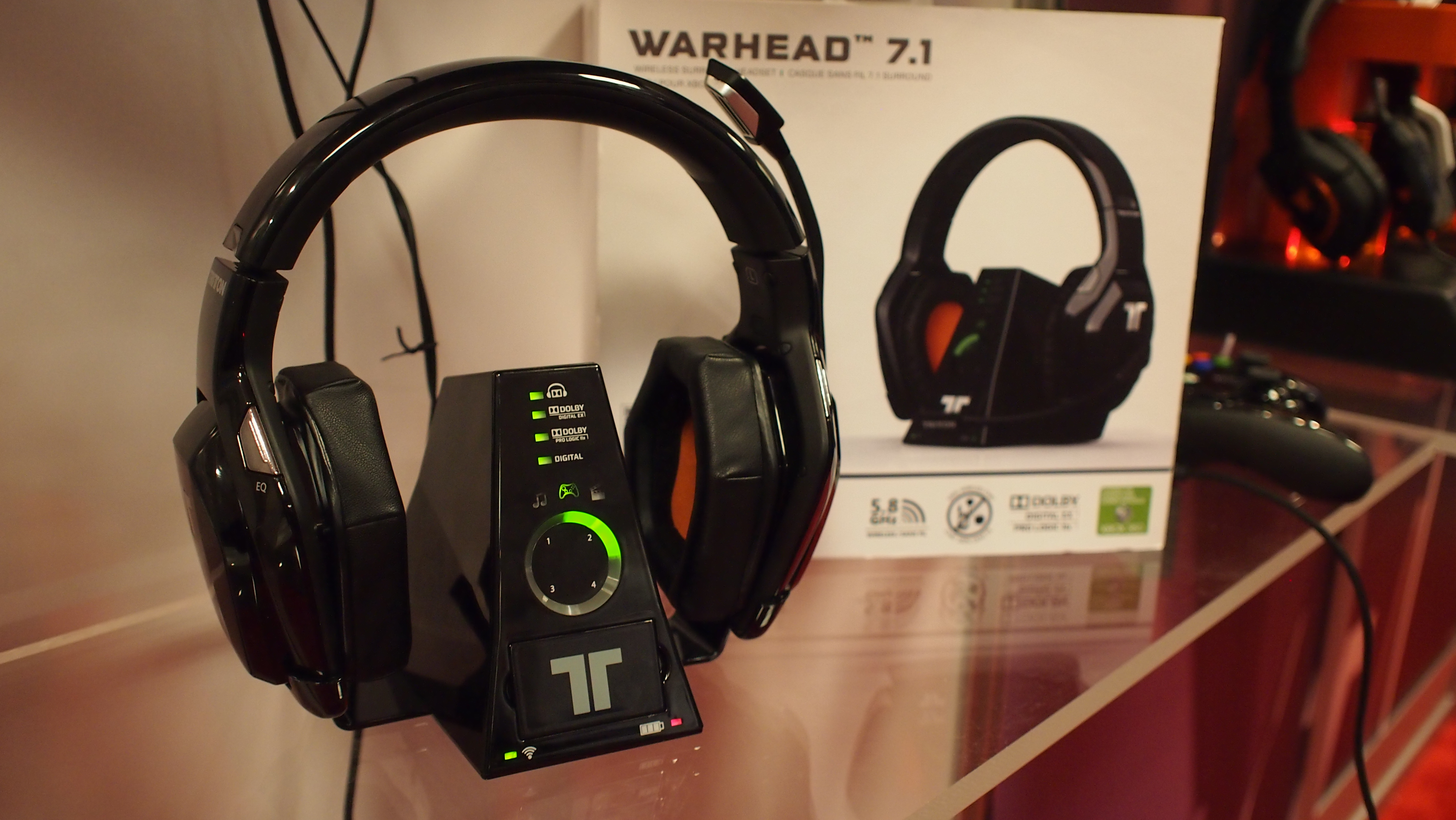 Tritton Warhead 7.1 Wireless Surround Headset for Xbox 360