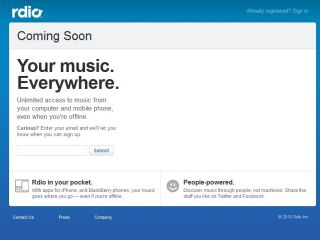 Rdio is a new music streaming (and sharing) service from the founders of Kazaa and Skype