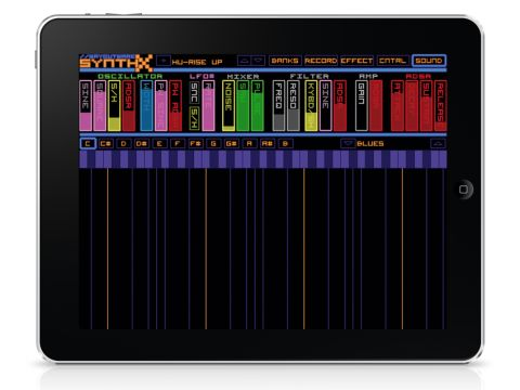 SynthX is certanily a great sounding iPad synth.