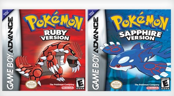 Pokemon Ruby and Pokemon Sapphire