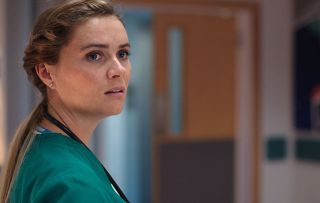 Casualty - Time to bow out. Chelsea Halfpenny as Alicia Monroe