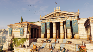 Feel what it was like to live in Ancient Greece in Assassin's Creed Odyssey's new mode | PC Gamer
