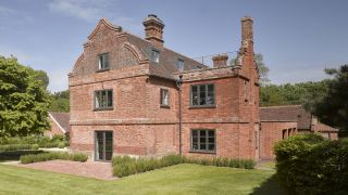 nash baker architects spent years renovating a house that was 400 years old on suffolk farmland