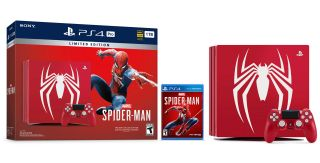 limited edition spider-man ps4 pro bundle