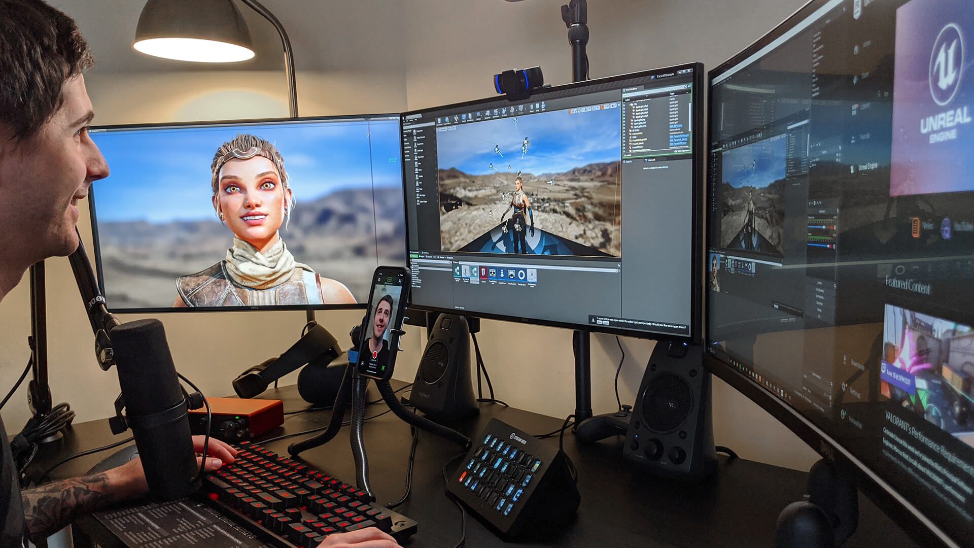 Epic S Unreal Engine Ios App Can Capture High Quality Facial Animations In Real Time Gamesradar