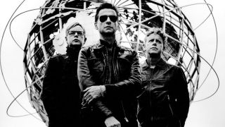 A press shot of Depeche Mode
