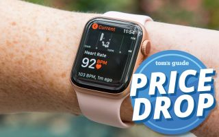 The Apple Watch Series 4 is at an all-time price low