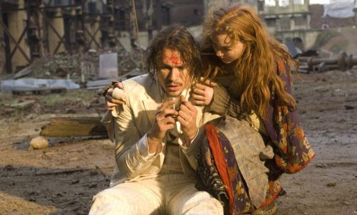 The Imaginarium of Doctor Parnassus - Heath Ledger & Lily Cole appear in Terry Gilliam's eccentric fantasy tale