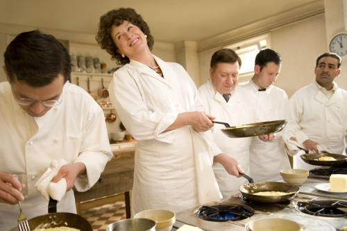 Julie & Julia - Meryl Streep plays the irrepressible Julia Child, the first American woman to train at the Cordon Bleu cooking school in Paris