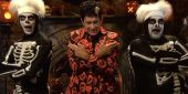 David S. Pumpkins' Skeleton Friends Have Names And Of Course They're Weird