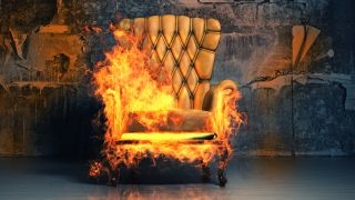 It looks like this chair could use some flame retardant.