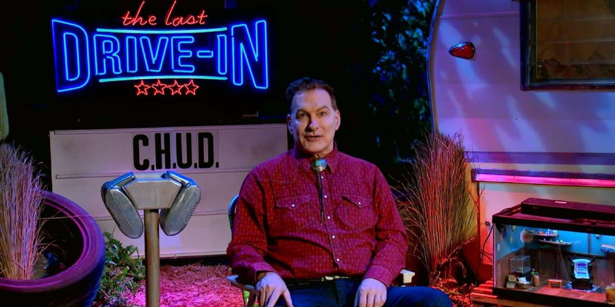 Joe Bob Briggs on The Last Drive-In