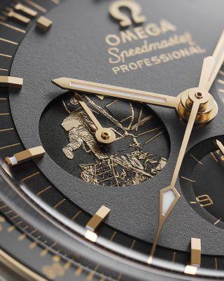 Omega Celebrates 'Iconic Hours' of Apollo 11 With New Speedmaster Moonwatch