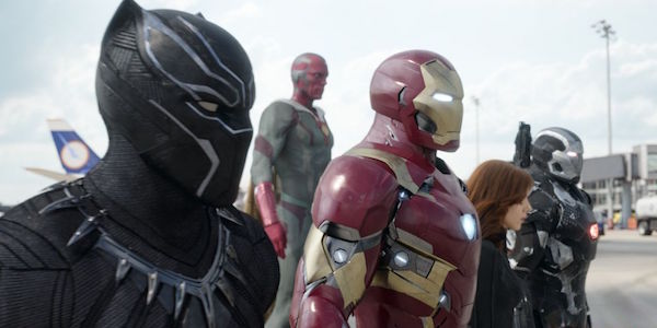Captain America Civil War Team Iron Man
