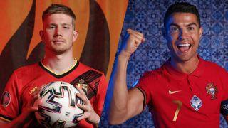 live stream Belgium vs Portugal at Euro 2020