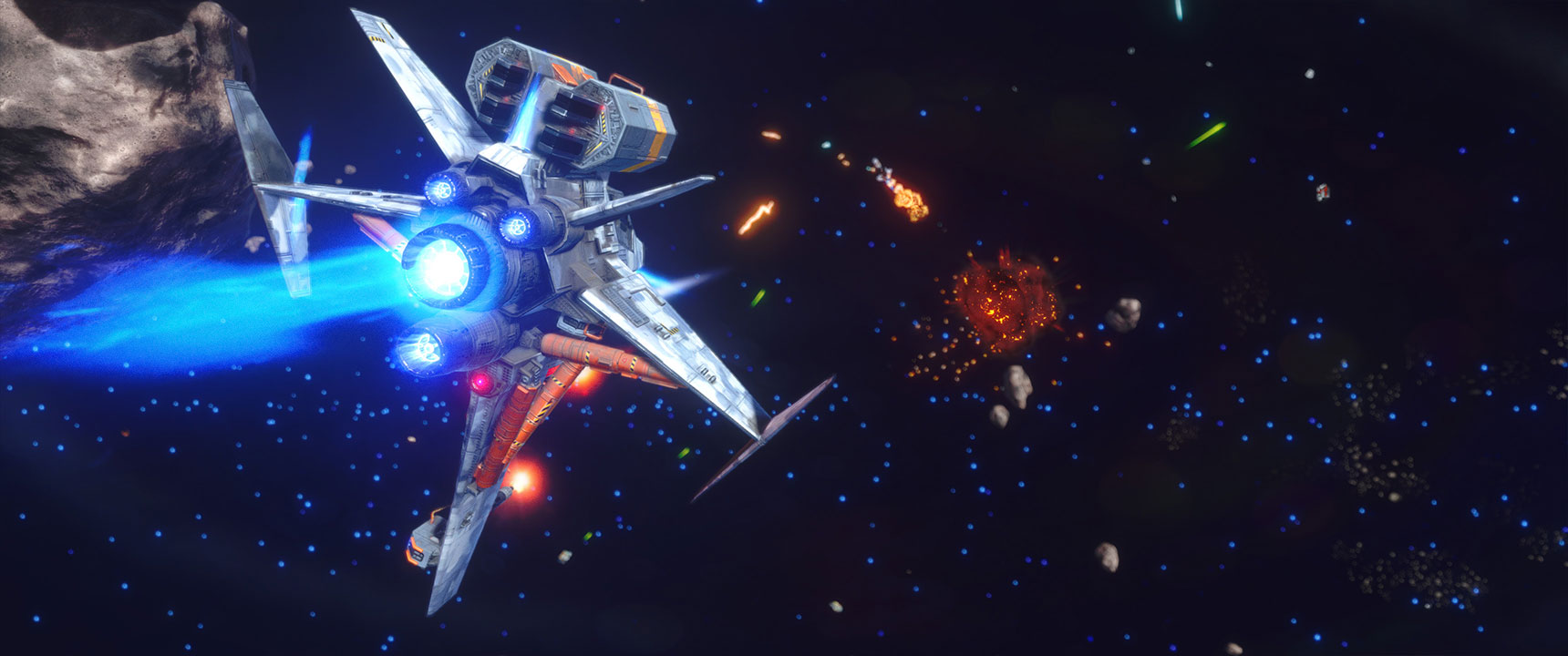 Rebel Galaxy Outlaw comes out next month on the Epic Games Store | PC Gamer