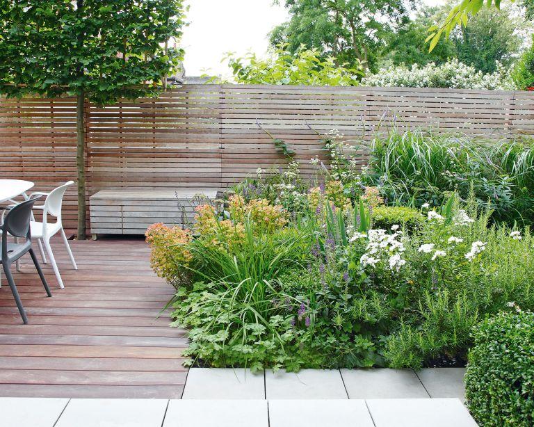Deck planting ideas