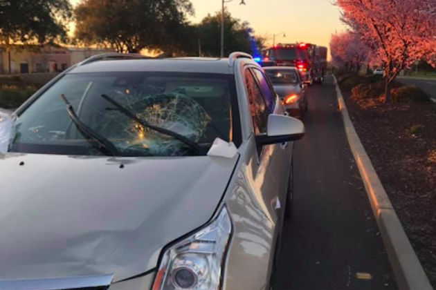SUV driver didn't stop for quarter of a mile with cyclist on his roof after crash - Cycling Weekly