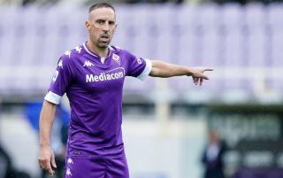 Franck Ribery pointing