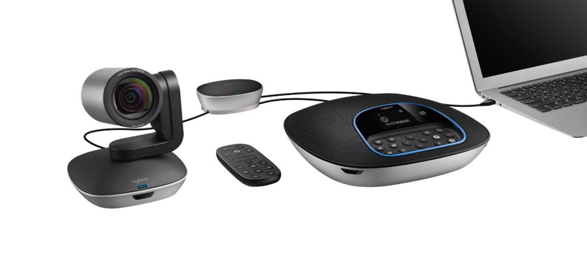 Logitech Group System Cuts Video Conference Cost Hassle